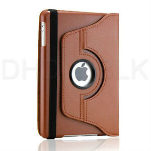 BROWN 360 ROTATING PU LEATHER CASE COVER WITH STAND FOR IPAD AIR Regina Regina Area image 10