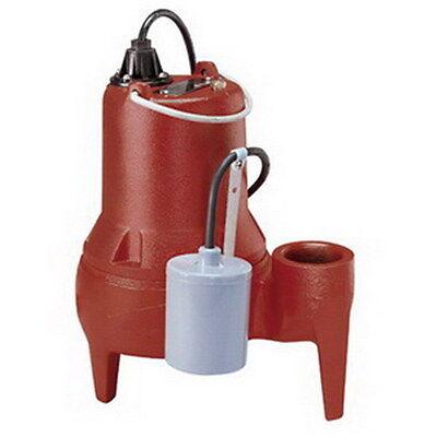 Liberty Pumps Le40-series Submersible Sewage Pump Le41a 410 Hp 2 Discharge