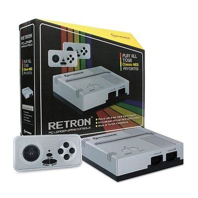 Hyperkin Retron 1 Gaming Console For Nes Games - Silver
