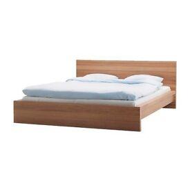 KING SIZE BED IKEA MALM