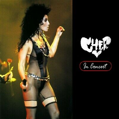 CHER @LIVE '90 CD+1 !!! Richie Sambora,Michael Bolton,Sonny Bono FEMALE ROCK/AOR