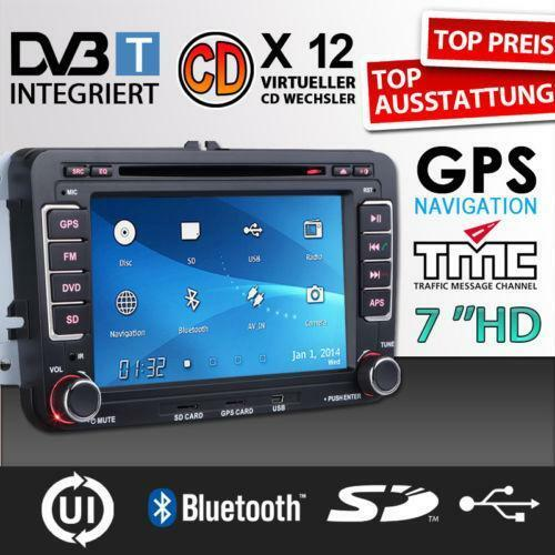golf 6 navi auto hi fi navigation ebay. Black Bedroom Furniture Sets. Home Design Ideas