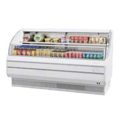 Turbo Air Tom-75lw-n Open Display Case Cooler Low Profile In White