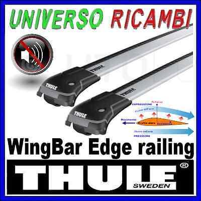 BARRE PORTATUTTO THULE WINGBAR EDGE OPEL Zafira 5-p MPV 98>02 03>04 con barre l