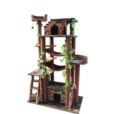 Cat Tree Condo Jungle Posts Scratcher Cats Climbing Towers Furniture Kitty - Jungle Cat Tree