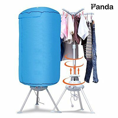 مجفف الغسيل جديد Panda Portable Ventless Cloths Dryer Folding Drying Machine with Heater