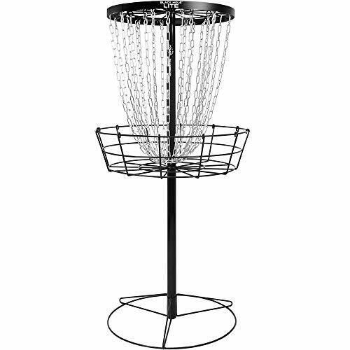 MVP Black Hole Lite 24-Chain Disc Golf Basket Target