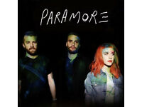 Paramore Concert Glasgow - Sat 20th Jan 2018 - 2 seated tickets £67.00 for the two