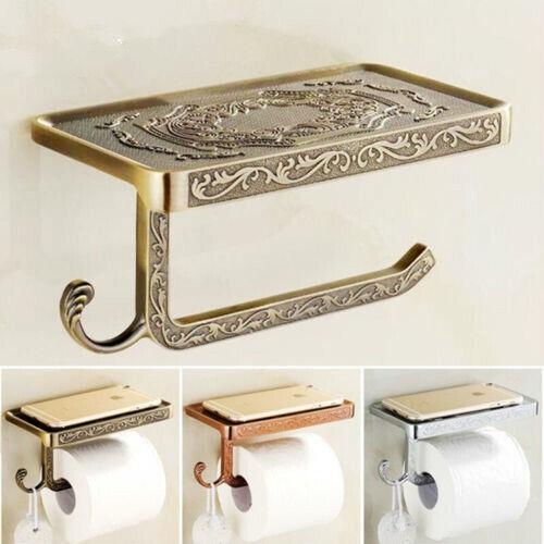 Klopapierhalter Retro Vintage Toilettenpapierhalter WC Rollenhalter Papierhalter