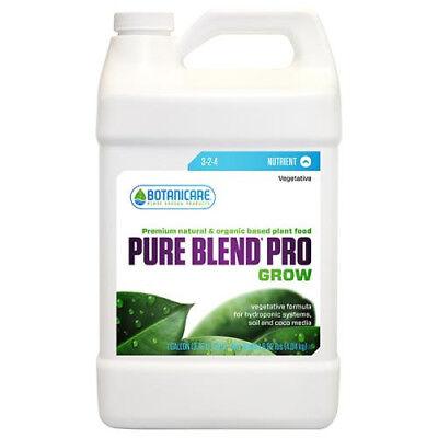 Botanicare Pure Blend Pro Grow 1 Quart / 1 Gallon - pureblend pbp qt hydroponic