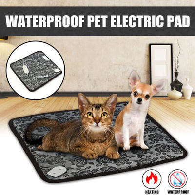 Waterproof Pet Heated Warmer Bed Pad Puppy Dog Cat Bed Mat Electric Heater Mat
