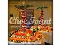 FRUIT TREE FRUIT DISPLAY DRINKS RECEPTION CHOCOLATE FOUNTAIN HIRE CANDY FLOSS MAGIC MIRROR HIRE