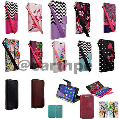 Motorola Droid Turbo 2 Moto X Force Case Magnetic Leather Flip Slim Wallet Pouch