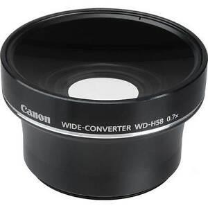Canon  WD-H58 Wide Lens + Lens Hood Dundowran Fraser Coast Preview