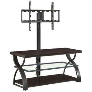 "Whalen 3-in-1 60"" Console TV Stand - Medium Espresso(BBCXL-28)"