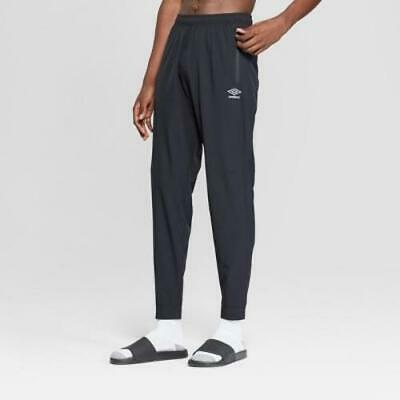 Umbro Men's Stretch Woven Jogger Training Pants - Black - Size Large