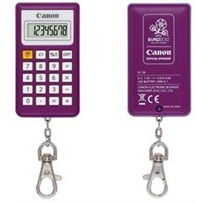 Collectible Official Euro 2012 Logo Calculator Canon KC-30 in Original Box