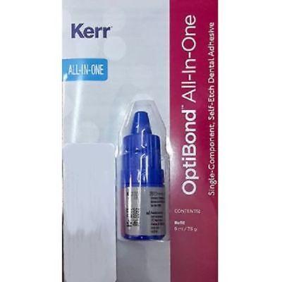 3 X Kerr Optibond All In One Self Etch Dental Adhesive Bonding Agent 6ml 35129.