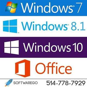 PROMO! Licence Microsoft Windows & Office + Service de Réparation