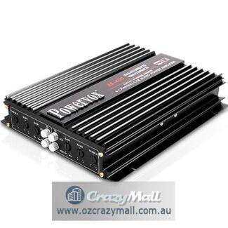 Car Amplifier PowerVox Brand 4 Channel 2800 Watt