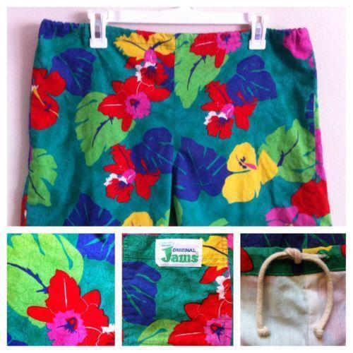 9ac8e9f6566b4 Jams Shorts Vintage   eBay