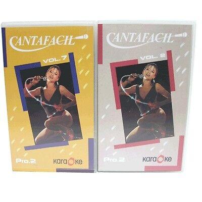 CANTAFACIL VOLUMEN 2 Y  7-CINTAS DE VIDEO CON MUSICA DE  KARAOKE (Musica Y Video)