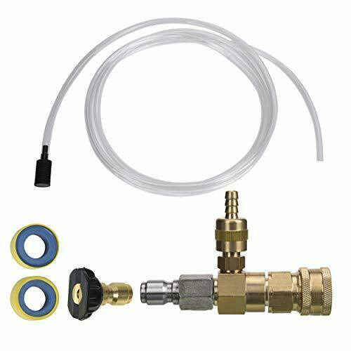 Adjustable Chemical Injector Kit for Pressure Washer, Soap Injec... NEW