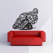 Wandbild Motorrad
