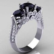 925 Sterling Silver Diamond Ring