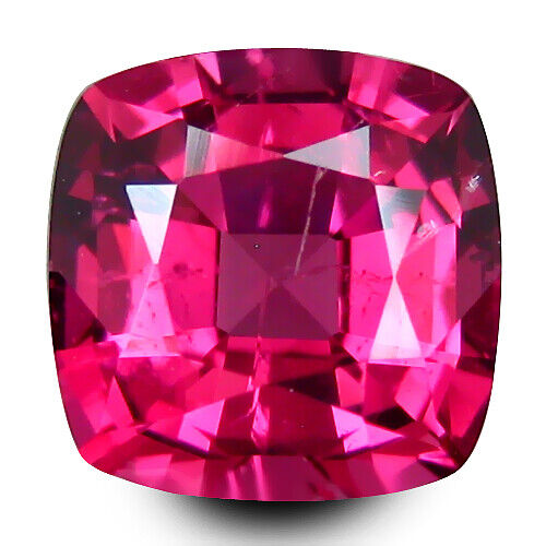 1.00Cts Genuine 100% Natural Unheated Spinel Cushion Shape Loose Gem REF VDO