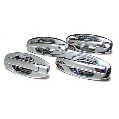 Chrome Door Handle Cover 8p For 2001 2002 2003 2004 2005 2006 Hyundai Santa fe