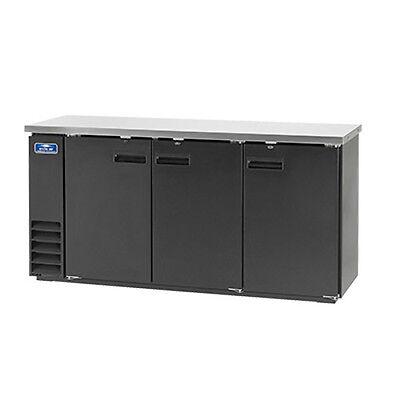 Arctic Air Abb72 84 6-pk Can Capacity Back Bar Refrigerator