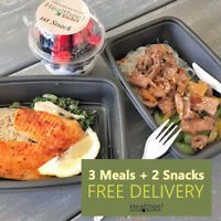 Weight Loss Meal Plan | 3 Meals + 2 Snacks | 15% OFF First Order