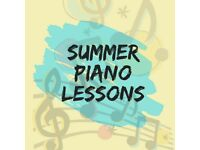 Summer Piano Lessons! From only £18!