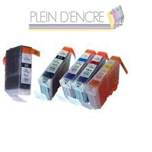 pack 5 cartouche d 39 encre compatible pgi5 cli8 pour. Black Bedroom Furniture Sets. Home Design Ideas