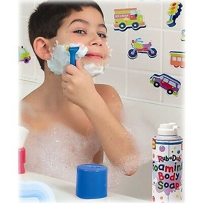 (ALEX RUB A DUB KID'S SHAVING IN THE TUB KIT FOR AGES 3+ NEW)