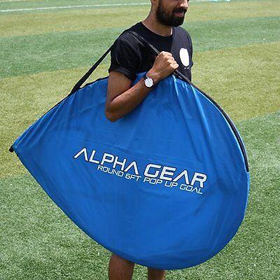 ALPHA Gear 6ft (183cm Wide) Pop Up Goals - PAIR