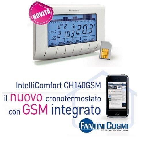 3s cronotermostato ch140 gsm fantini cosmi programazione for Ch140gsm prezzo