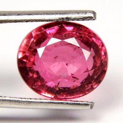 TOP RUBELLITE : 5,85 Ct Natürlicher Rubellit / Rubelith ( Pink Turmalin) Nigeria