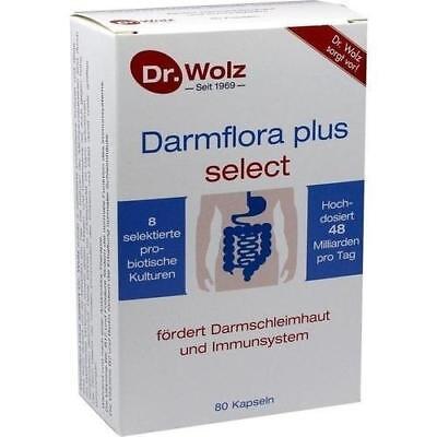 Dr. Wolz Darmflora plus select 80 Kapseln 8 Milchsäurebakterien mit B-Vitamine