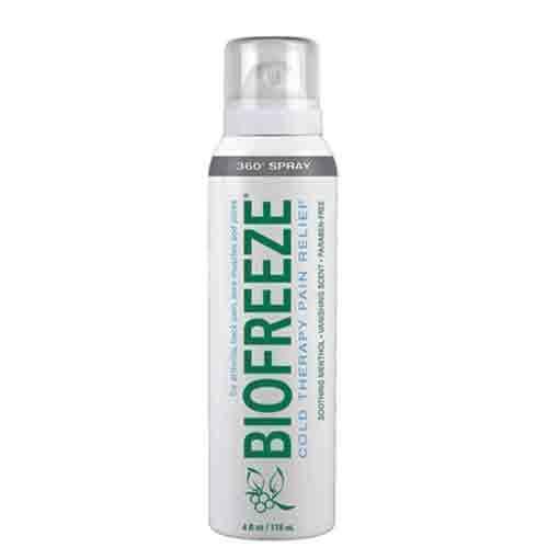 2 BioFreeze Professional, Biofreeze Pro 360° Spray 4 fl oz, NEW, Exp.2020