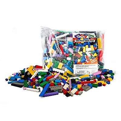 Building Bricks Blocks Toy Set Diy Toys Block Lot Educational Children Gift New