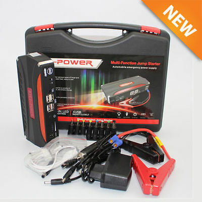 Portable 68800Mah Usb Car Jump Starter 12V Battery Charger Emergency Power Bank