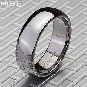 New in Box! Tungsten Rings CLEARING OUT STOCK Sz 7-13