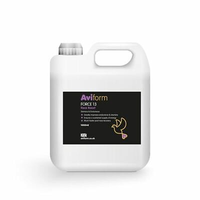 Aviform FORCE 13 Stamina & Endurance Supplement for Racing Pigeons 1 litre - New