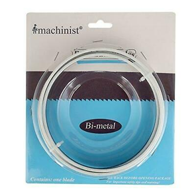 Imachinist S561814 Bi-metal Metal Cutting Bandsaw Blades 56-18 Long - 12