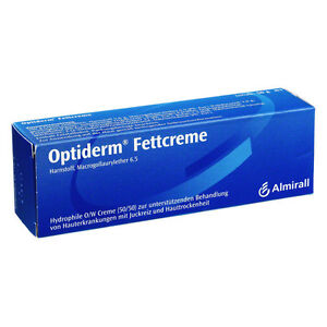 Optiderm Fettcreme 50g Neurodermitis Juckreiz Ekzem (15,32€/100 g)