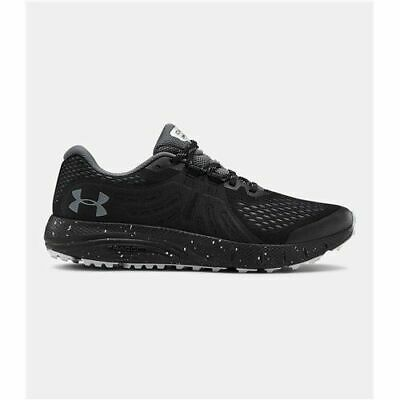 Men's Under Armour UA Charged Bandit Trail Running Shoes -Black/Gray 3021951-001
