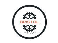 Folding bike retro Auto-Mini Raleigh twenty Bristol UpCycles Used bike shop