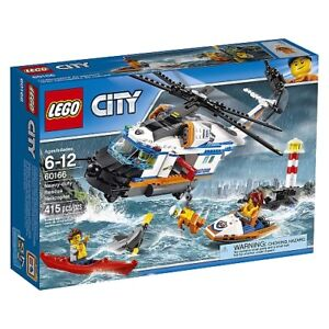 BNIB LEGO City Coast Guard Heavy-duty Rescue Helicopter 60166
